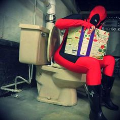 Dick doesn't like Deadpool.
